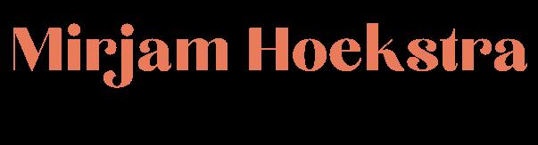 Mirjam Hoekstra | kinderboekenredacteur